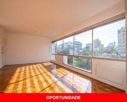 Apartamento com 152m² na quadríssima da praia, andar alto, composto de salão , 4 quartos,