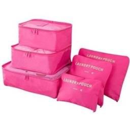 Bolsas organizadoras para malas de viagem