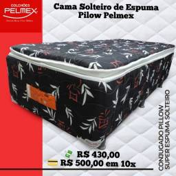 Cama Solteiro Pilow Pelmex