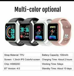 Smartwatch relógio inteligente y68 para android/ios