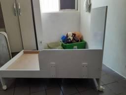 Cama e colchão infantil até 3 anos. R$150