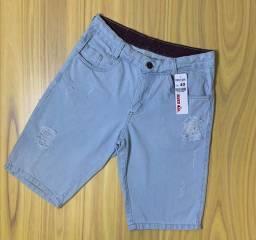 Bermuda Jeans Primeira Linha R$28,00