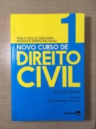Livro Novo Curso de Direito Civil