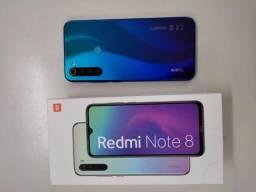 Redmi note 8 Azul sem detalhes 64 Gb