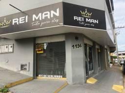 Vendo Loja de roupas masculina montada e com mercadoria