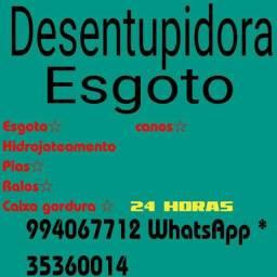+@Desentupidora de esgoto <
