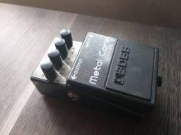 Pedal de efeito para guitarra - metal core - boss