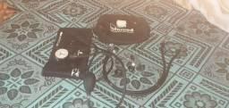 esfigmomanômetro e estetoscópio (novos)