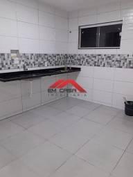 @T.H.A#(Cód: EM 2869)Casa em Unamar com 2 quartos