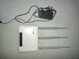 Vendo esse roteador wifi max link muito bom apenas. $80 reais.... Meu ZAP *