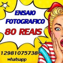 Ensaio fotográfico promoção