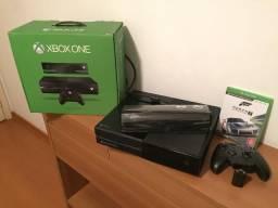 Xbox One 500GB + Kinect + Acessórios + Jogo - Único Dono