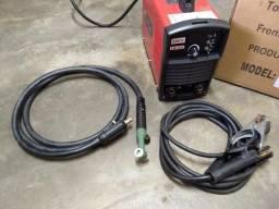 Máquina De Solda Inversora Bambozzi Ami 200 Ed 220 Volts com tocha para tig