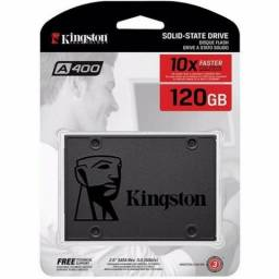 "SSD Kingston 120GB Sata 3 A400 (3 meses de garantia) ""Nova"""