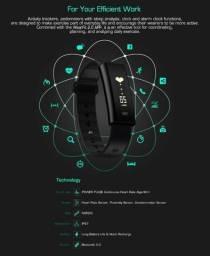Smartband Zeblaze Arch Pressão Arterial E Oxigenio ? Preta/Marron - Promoçao