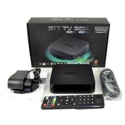 Smart Tv HD Box Android Tv Quad Core Mxq 4k Netflix Youtube