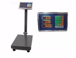 Balança digital 300 kg com plataforma Bi Volt com bateria. (93 991403737)