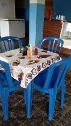 2 Mesas 8 cadeiras