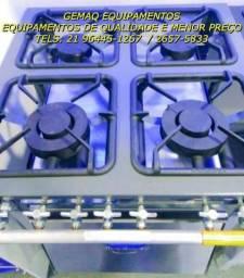 Atenção!! Fogão Industrial de 4 BOcas com forno em grande promoção!!