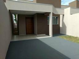 Casa Nova Aero Rancho 3 quartos uma suíte piso porcelanato