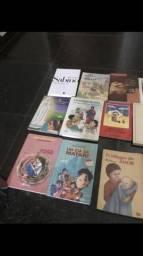 + 10 livro literatura por 50 reais tudo