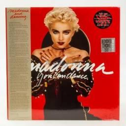 LP Madonna 'You Can Dance' / Vinil Vermelho / Edição Limitada / Lacrado