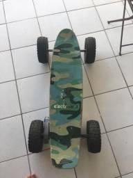 Skate elétrico com problema na bateria