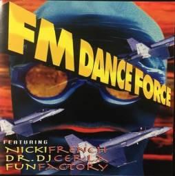 Cd Fm dance Force Paradoxx Music 1995 (O Melhor do Dance 90's)