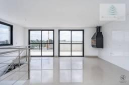 Cobertura duplex com 3 dormitórios à venda, 195 m² por r$ 570.000 - santa felicidade - cur