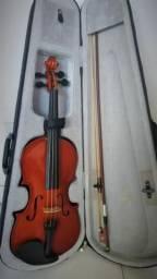 Violino 4/4 Marinos de Madeira + Case