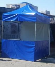 Tendas Sanfonadas 2x2 Balcao em pvc