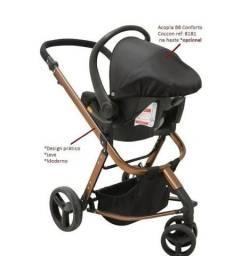 Vendo Carrinho de Bebê + Bebê conforto + Base