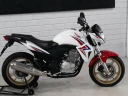 Honda cb 300r flexone tricolor 2015 impecável revisada com garantia - 2015