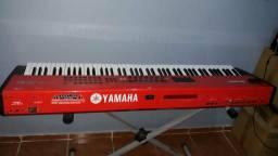 Yamaha s80, cor estilo nord! 88 teclas de piano, excelentes timbres!