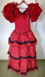 Vestido para dançaflamenca