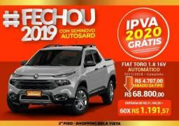 Fiat Toro Freedom 1.8 AT6 4x2 (Flex) - 2018