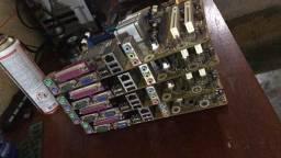 Placa 775 ddr3 + Processador Core2 duo