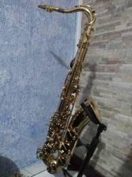 Sax tenor shelter lindo e revisado