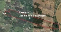Fazenda 285ha irrrigada as margems do Rio São Francisco