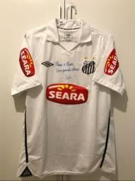 c4b451a945 Camisa Umbro Santos Autografada G