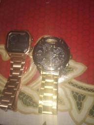Relógio skmei e diesel novos