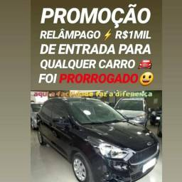 Showroom DE CARROS! R$1MIL DE ENTRADA(