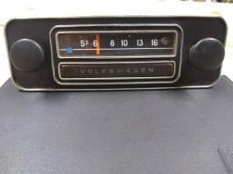 Rádio original Volkswagen anos 60/70