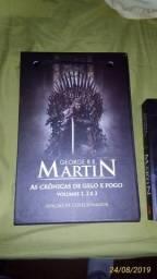 Box As Crônicas de Gelo e Fogo (Game of Thrones) Edição de Colecionador