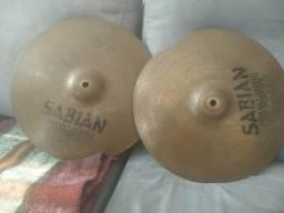Vendo Pratos da Sabian e Zildjian
