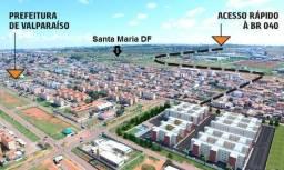 Aprovação facilitada! Valparaíso 1 até 100 % mcmv 2 qtos cidade jardins codq352b8c9m46s