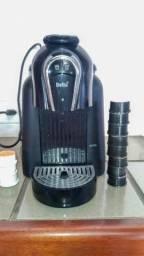 Cafeteira Delta Qool Automática c/ 13 Cápsulas de Café e Chá