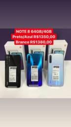 Note 8 64gb/4gb lacrado