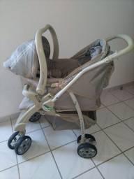 Carrinho Bebê + Bebê conforto + Ninho carrinho