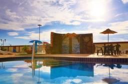 Belo flat c/3 quartos, c/parque aquático; p/8 pessoas, em Caldas Novas